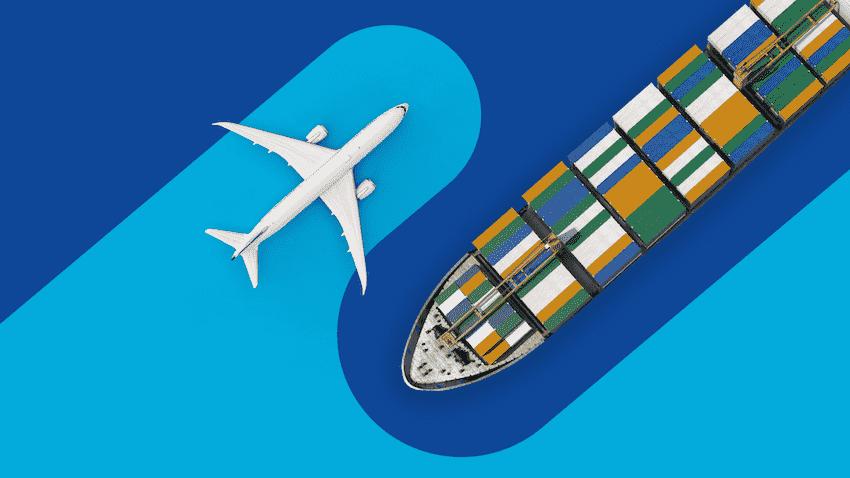 fret maritime vs fret aerien