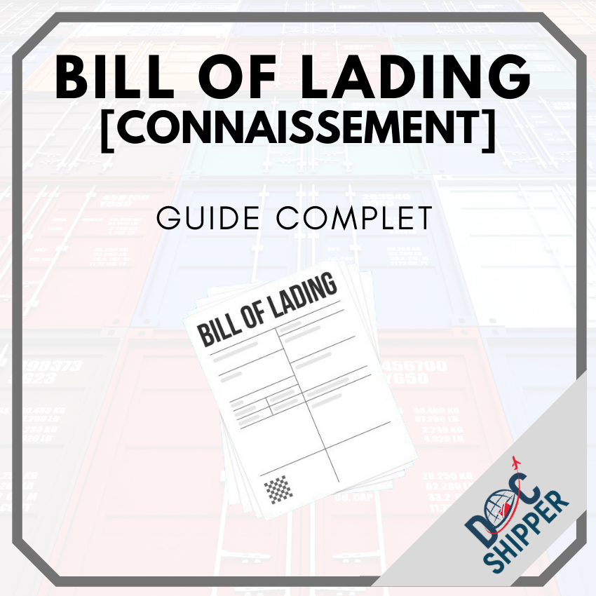 Bill Of lading I Guide complet