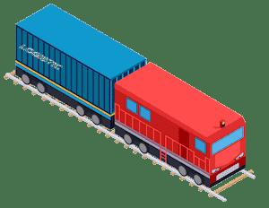 rail freight icon