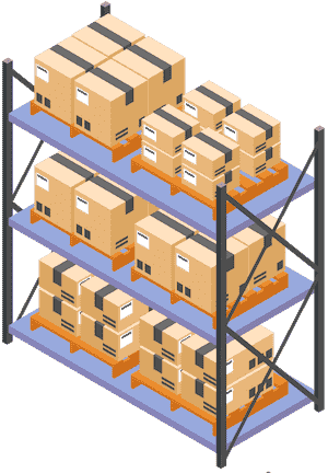 service de stockage icon
