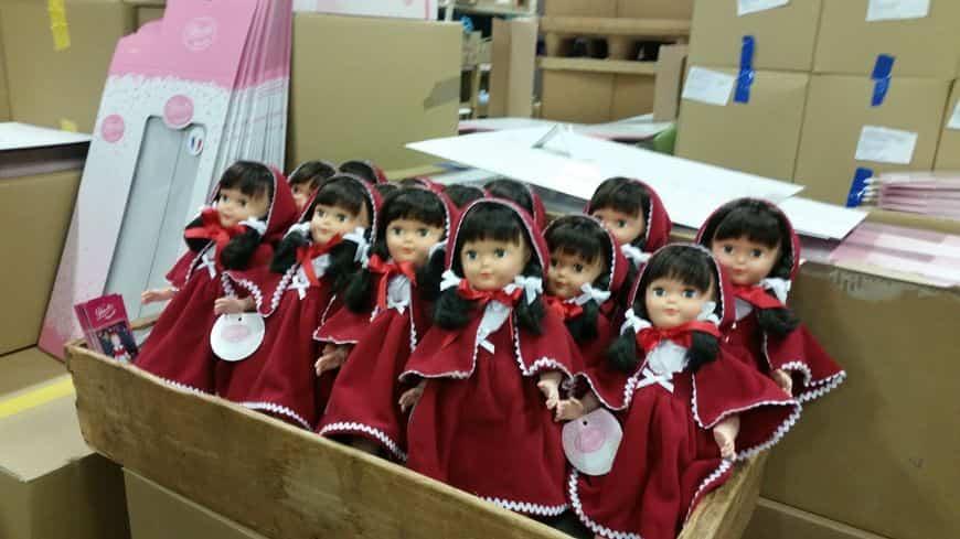 Usine poupées chine