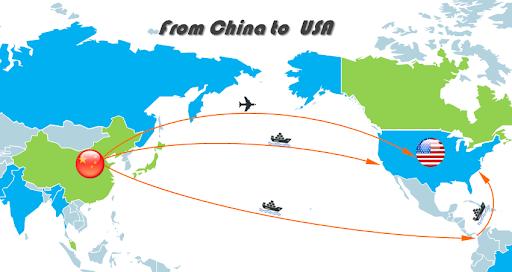 China to USA