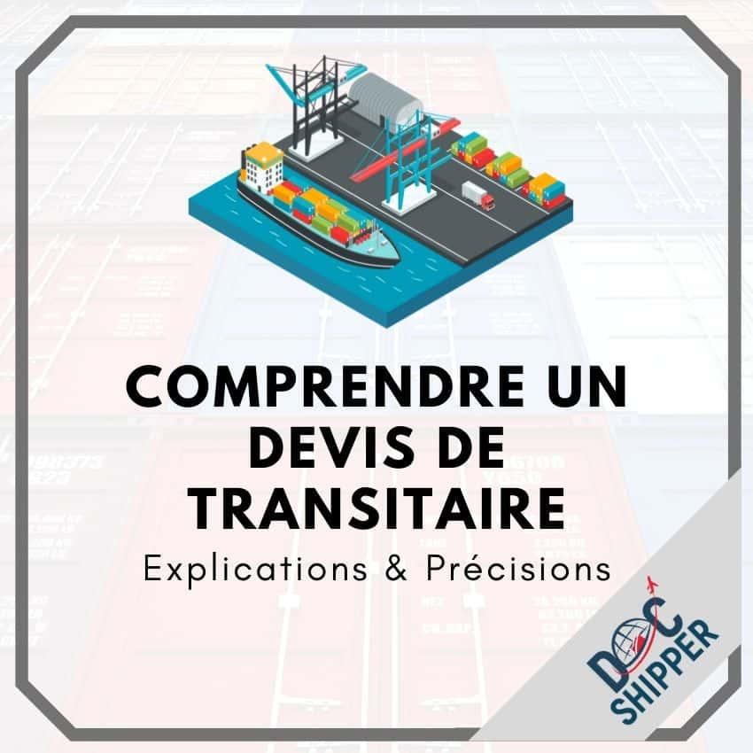 Comprendre un devis de transitaire Explications et précisions