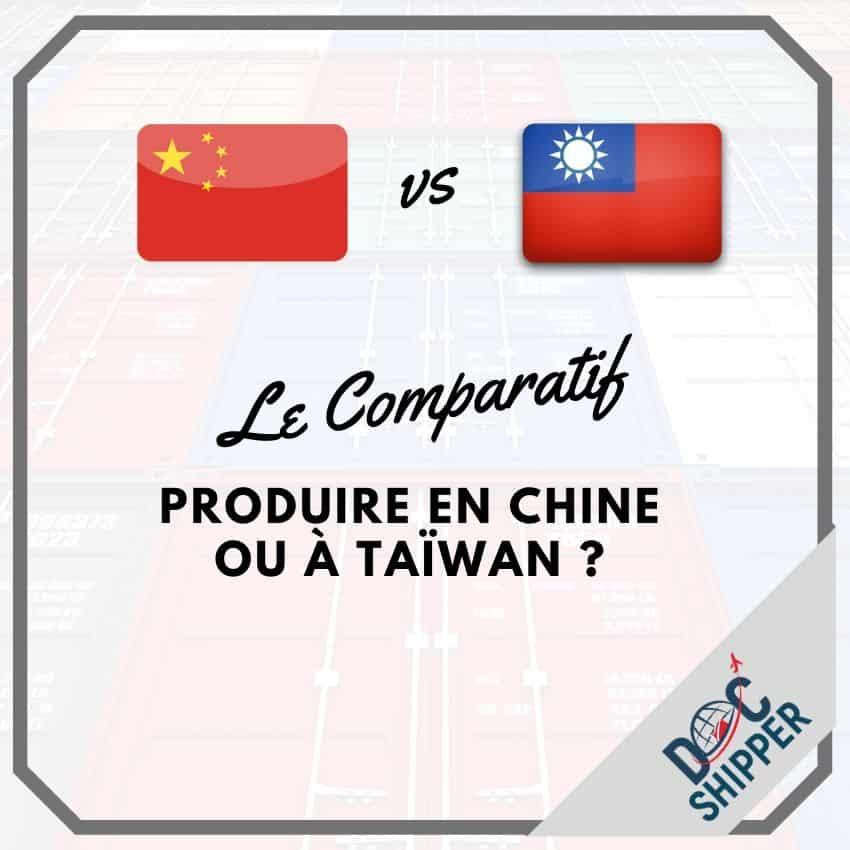 Taïwan China Produire