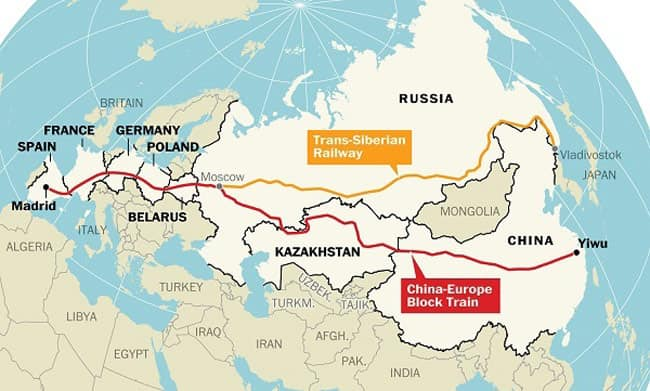 the silk road to Germany