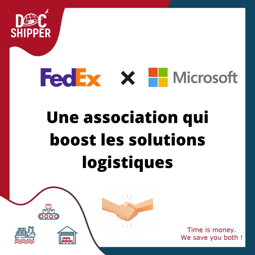 Collaboration Microsoft x FedEx